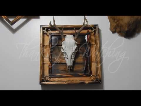 How to make a mount for a deer skull