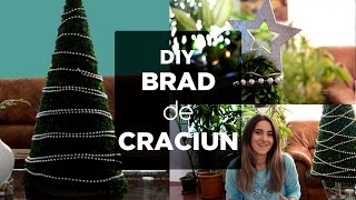 DIY - Brad de Craciun Christmas Tree tutorial