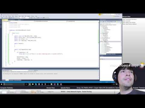 S03E07a - Unity Network Engine - Packet Parsing