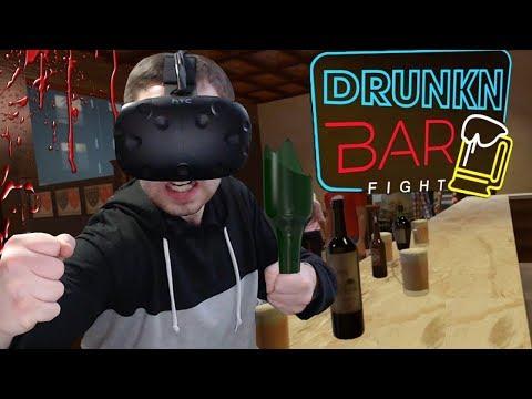 DRUNKN BAR FIGHT - ЭПИЧНАЯ ДРАКА В БАРЕ (VR)
