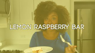 Lemon Raspberry Bar -- Dessertify