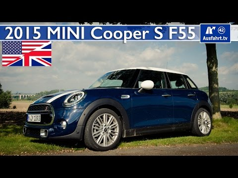 2015 MINI Cooper S (F55) - Test, Test Drive and In-Depth Review (English)
