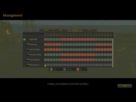 UBOAT - Crew Management Explained/Setup
