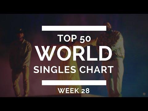Top 50 World Singles Chart - Week 28 (July 16. 2017])