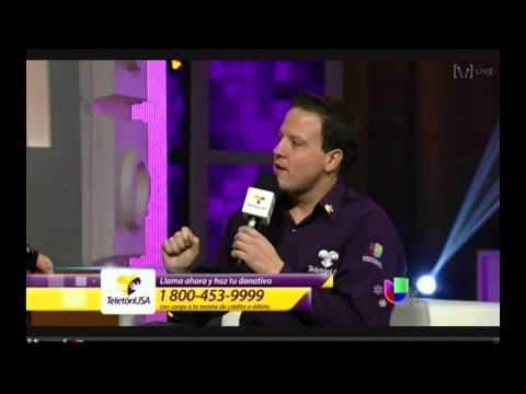 """Joel """"Tito"""" Olivas y familia en Teleton USA 2013"""