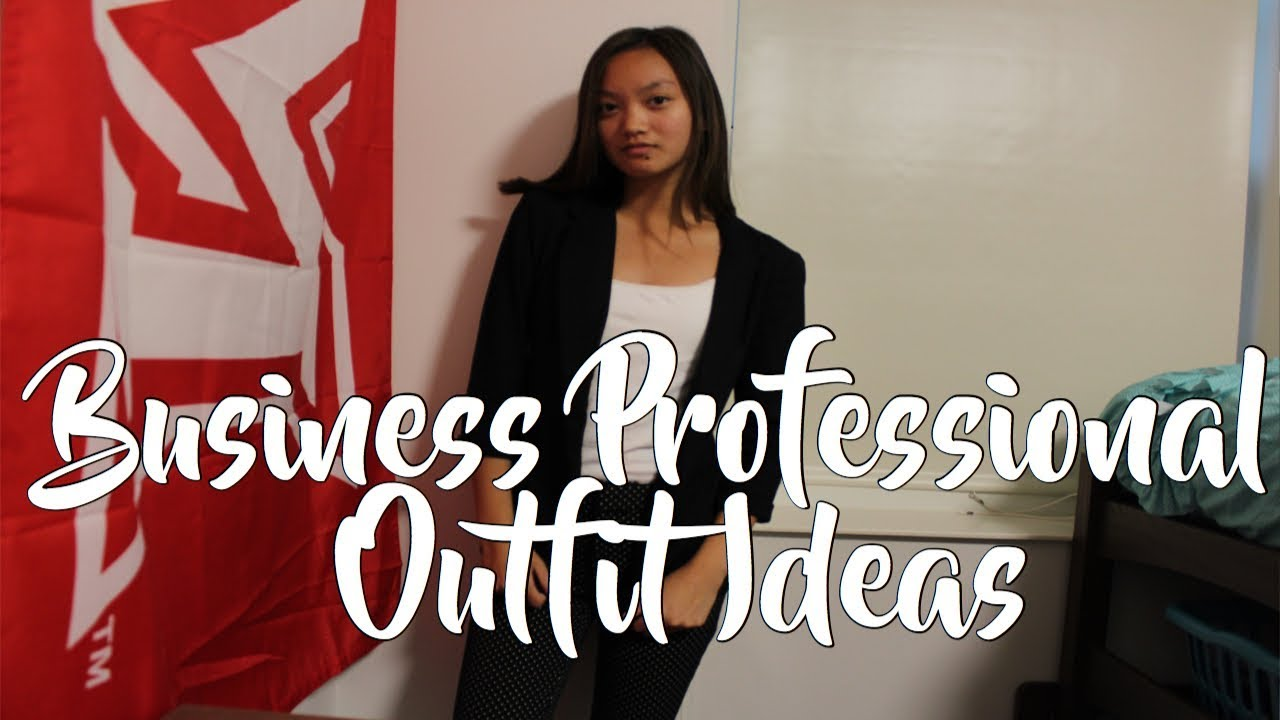 [VIDEO] - Business Professional Outfit Ideas! | Business Professional Attire for Women 8