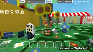 Playing Roblox and cool