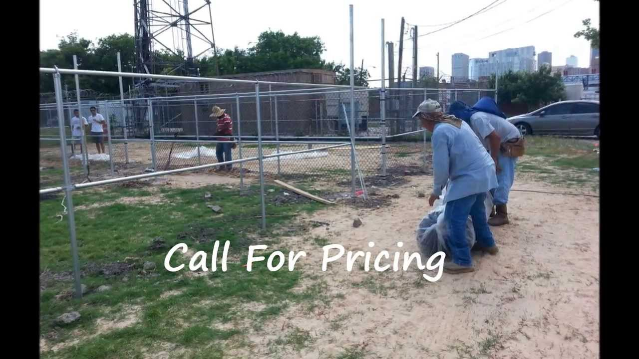 Chain Link Fence Installation Houston 281 810 6368