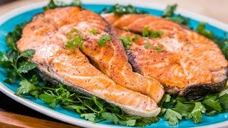Home & Family - Learn To Make A Perfectly Grilled Salmon Steak With Chef Fabio Viviani