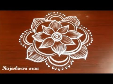 Beautiful Simple Rangoli Designs without dots Easy Free ...