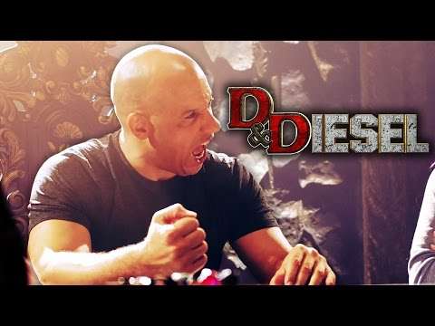 D&Diesel with Vin Diesel - Highlights (Dungeons & Dragons - Nerdist Presents)