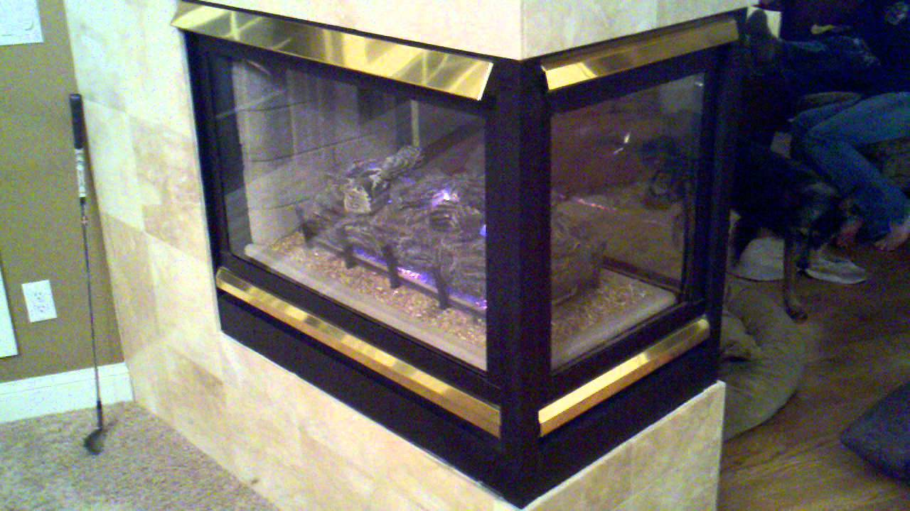 superior ds pf n peninsula fireplace youtube