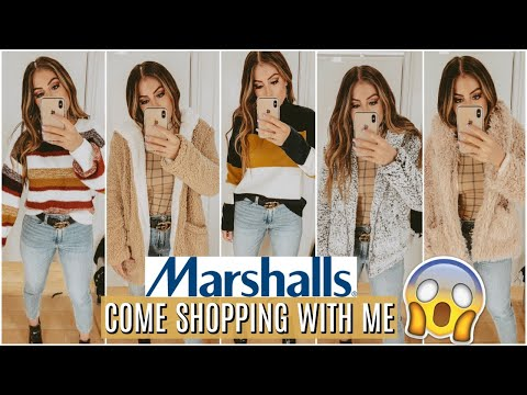 You WON'T Believe the FALL FASHION I Found at MARSHALLS + Come Shopping With Me