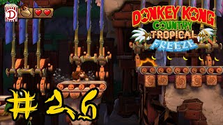 Affenhackfleisch | Let's Play Donkey Kong Country Tropical Freeze 100% #26 | Switch | Deutsch
