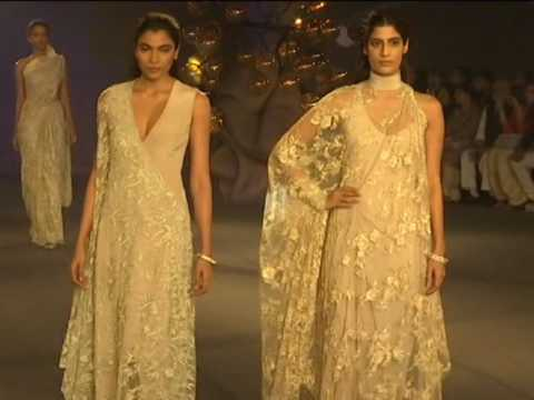 Nature inspired collection cast a spell on audience at India Couture week in New Delhi