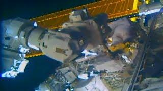 Timelapse International Space Station EVA US Spacewalk 51 8x