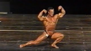 Dimitri Zolin (RUS), NABBA Europeans 1995 [EUROSPORT]