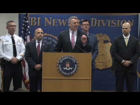 Newark - Ten Most Wanted Fugitive Press Conference - April 12, 2017