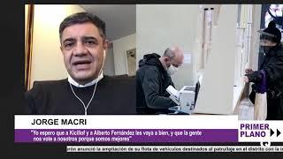 JORGE MACRI YA PIENSA Y SE EXPRESA COMO POSTULANTE A LA GOBERNACIÓN BONAERENSE