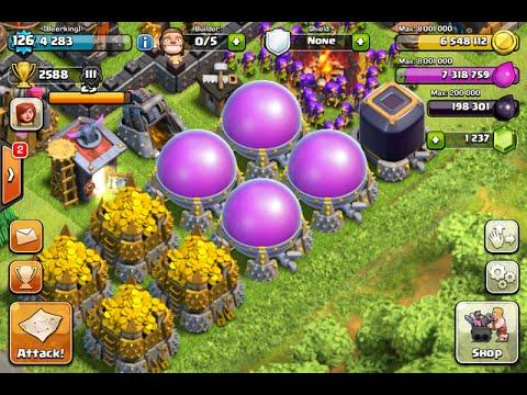 Clash of Clans Mega Loot - TH9 Unbelievable loot raids March 2016 CoC