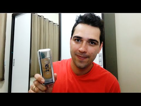 212 Vip Men -  Carolina Herrera (Resenha)