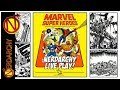 (S2/E1)  The Beginnings Marvel Super Heroes Role-Playing Game Live Play