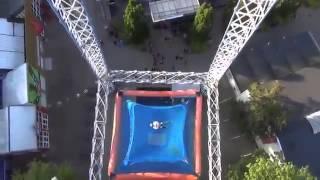 Видео   Свободный полет с огромной высоты   Видеоролики на Sibnet