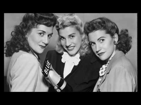 The Andrews Sisters, Red River Valley (1946) [HQ]