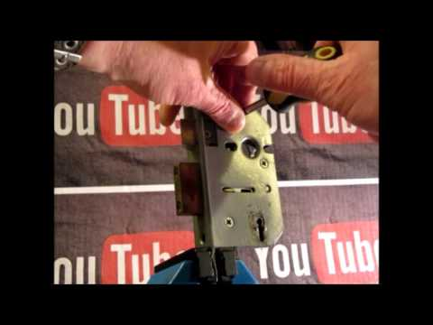 Взлом отмычками ERA   Single Lever Picking A 5 Lever ERA Curtained Mortice Lock Using ICL Picks (Most of my videos are tutorials with hints and tips for lock pick
