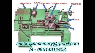 Heavy Duty Lathe Machine all Size M-09814312452 www.sukhrajmachinery.com