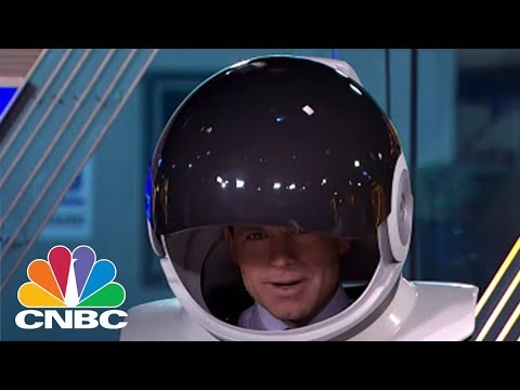 This Virtual Reality Helmet Makes You Feel Like You're In Space | CNBC