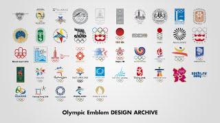【4K】オリンピックエンブレム・デザイン・アーカイブ2020画像集/Olympic Emblem Design Archive 2020