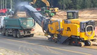 Wirtgen W210 milling asphalt