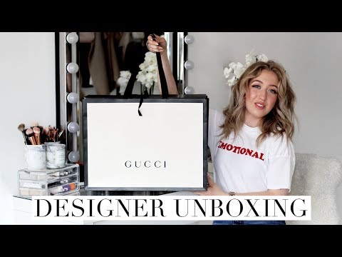 MOST UNDERRATED GUCCI DESIGNER BAG | Unboxing + What's In My Bag