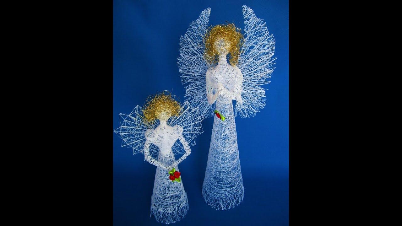 Engel Aus Nähgarn Selber Machen Angel Diy