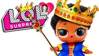  ¡Mi MUÑECA LOL Surprise es REINA! ►  Videos con Juguetes para niñas y niños