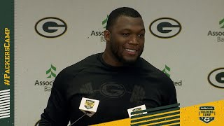 Clark 'excited' for Joe Barry's energy coaching Packers' defense