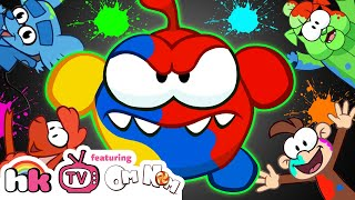 Om Nom Stories: SUPER-NOMS HOLI 2019 | Cut the Rope | HooplaKidz TV