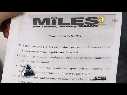 """Feinmann: """"La agrupación Miles llama a agitar contra el gobierno"""" en """"Animales sueltos"""" - 25/08/16"""
