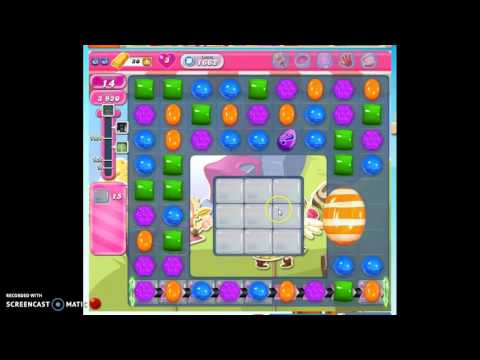 Candy Crush Level 1662 help w/audio tips, hints, tricks