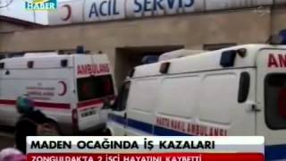 Zonguldak'ta Maden Ocağında İki Ayrı İş Kazasında 2 İşçi Hayatını Kaybetti