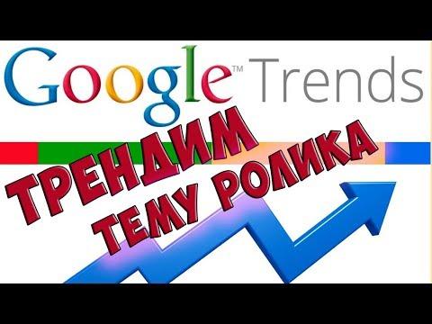 Как найти тренды по вашей тематике. Как использовать Https://trends.google.ru