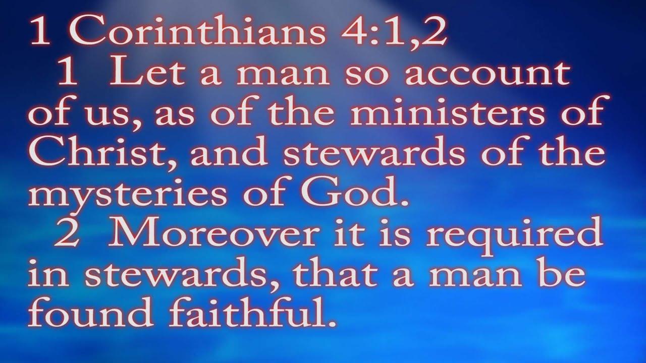 1 Corinthians 41 7 Message 23 By Dave Stewart