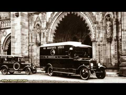 THREE CHOIR FESTIVAL CONCERT from Hereford in 1927