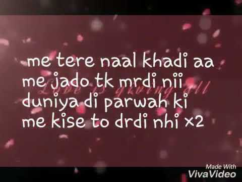 Meri Mummy Nu Pasand Nai Tu Romantic Lyrics Song