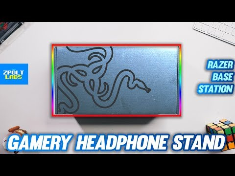 GAMER'S HEADPHONE STAND - Razer Base Station Chroma Unboxing and Review 🔥