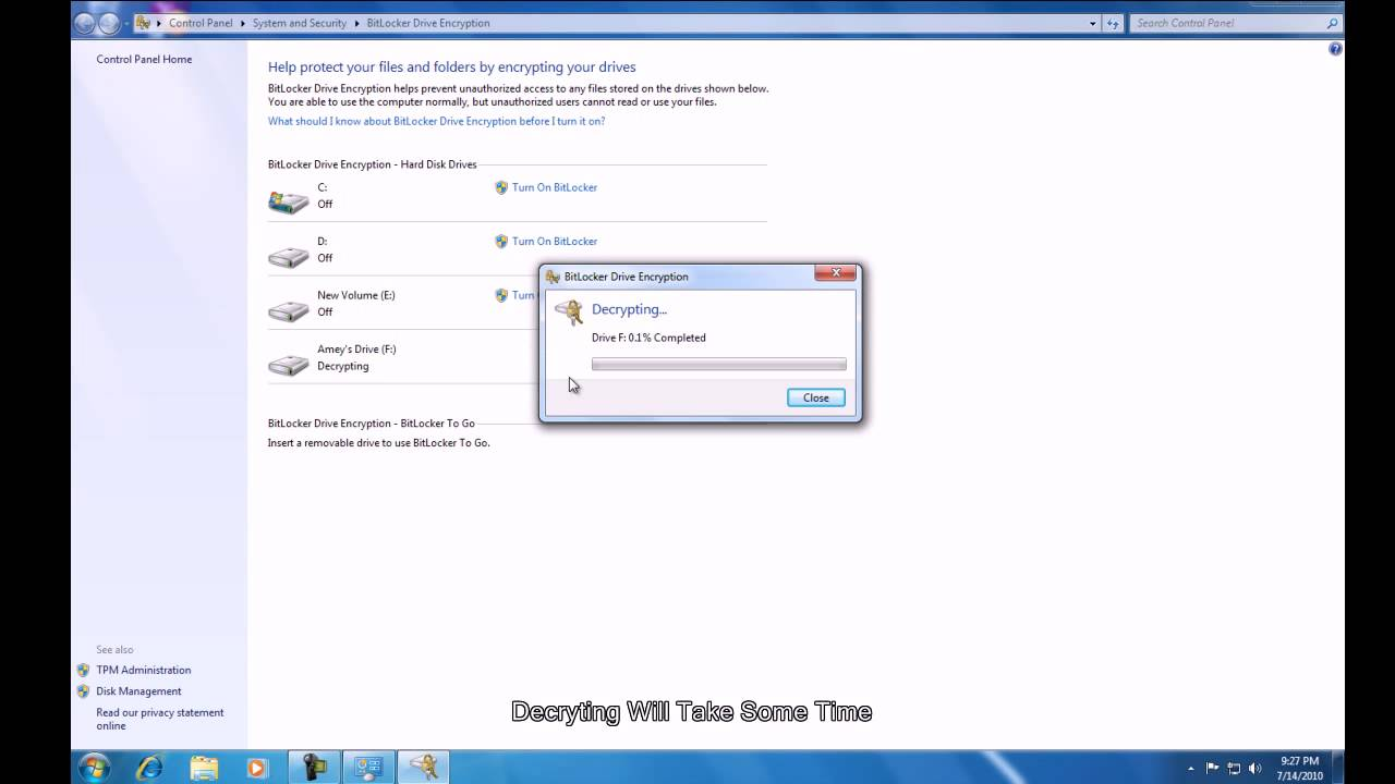 bitlocker windows 7 32 bit