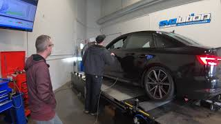 DYNO Result from APR Stage 1 on Audi A4 B9