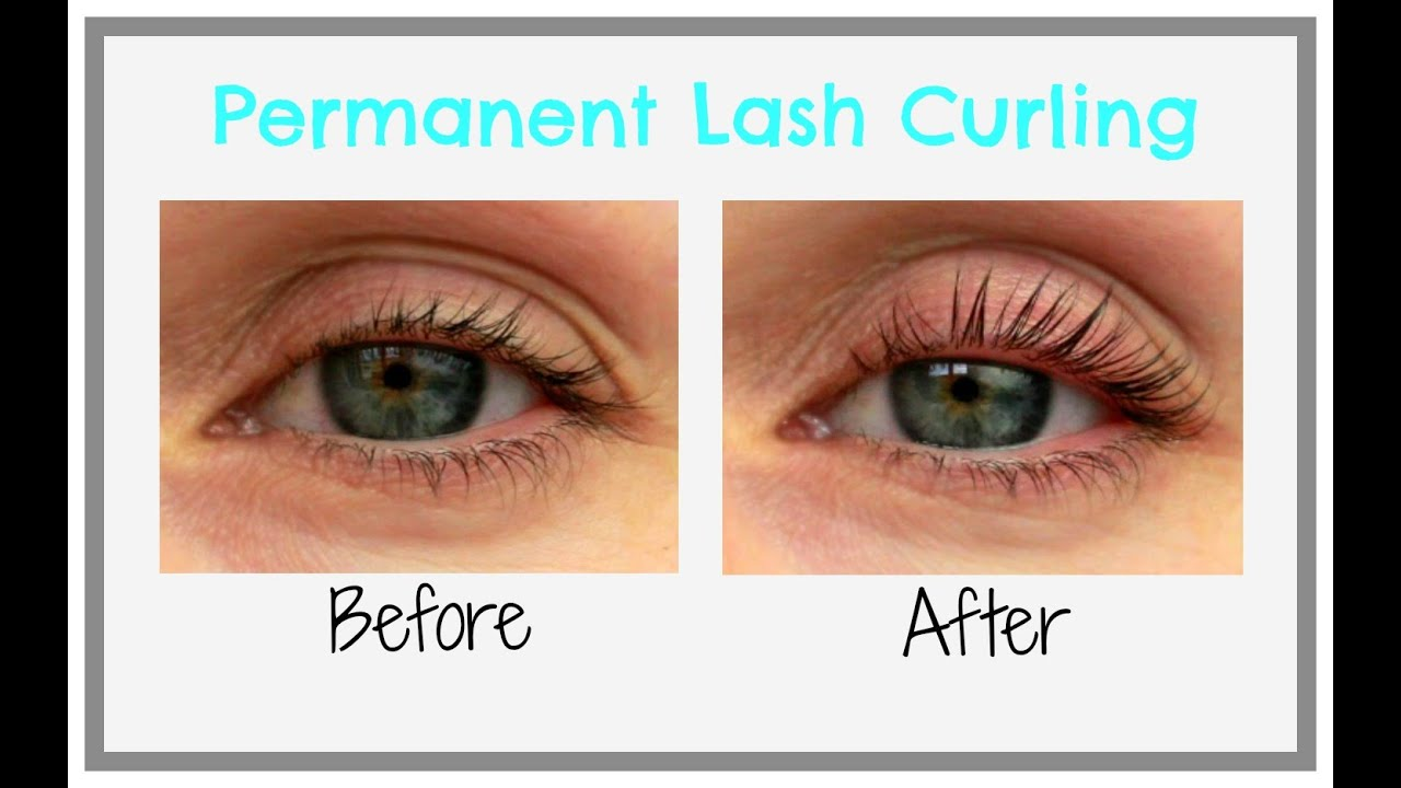Semi Permanent Lash Curling At Home Youtube