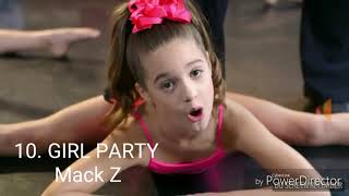 Dance Moms songs ranked 20-1